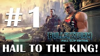 Bulletstorm Full Clip Edition Duke Nukem gameplay part 1 - Live stream