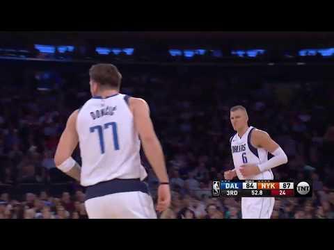 Luka Doncic (33 points) highlights vs New York Knicks