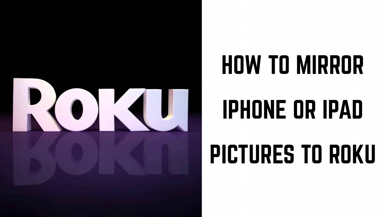 mirror iphone to roku how to mirror iphone and pictures to roku 2541