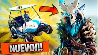 *NEW SEASON 5* GOLF CART AND NEW SKINS!! LEVEL100 FORTNITE: Battle Royale ? Stratus
