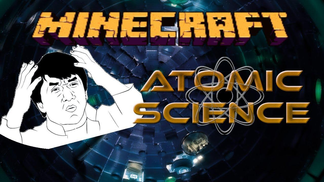 Minecraft- Atomic Science 0.4.1 [what is uranium hexafluoride ...