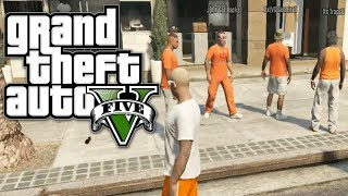 GTA 5 Online Multiplayer Funny Gameplay Moments! #8 (Gang Wars Fun!)