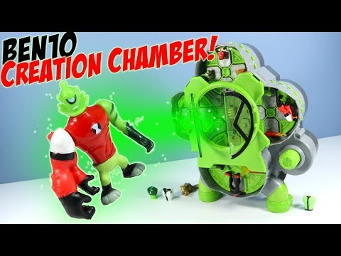 Ben10 Reboot Alien Creation Chamber Playset Review