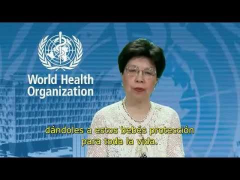 Hepatitis Virales mensaje de la Doctora Chan, directora general de la OMS, subtítulos en español