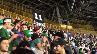 """Napoli - Lazio...coro """"andai a Mozambico"""""""