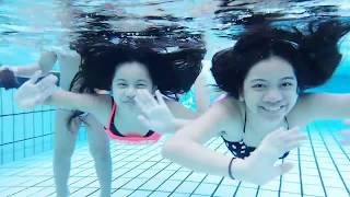 Kids Having Fun Underwater - Video Shooting and Photography underwater