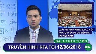 Tin tức thời sự: VN thông qua Luật An Ninh Mạng bất chấp phản đối