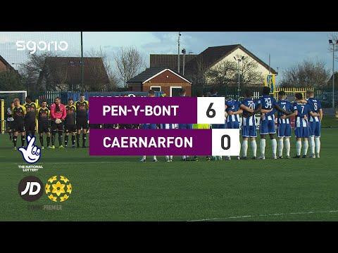 Penybont Caernarfon Goals And Highlights