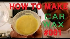 homebrew car wax - how to make a car wax Part1