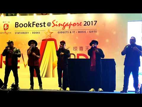 Opening Ceremony of BookFest @ Singapore 2017 and Performances by Colour Of Voices