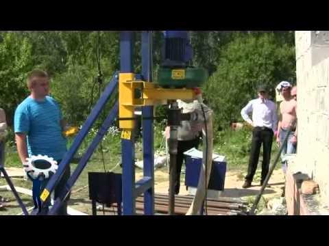 Самоходная буровая установка для бурения скважин под воду