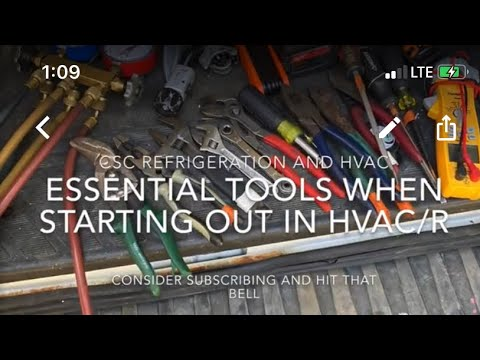 Essential Tools For Starting Out In HVAC/R