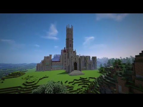 Minecraft Historic Buildings - Fonthill Abbey part 3/3