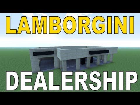 Minecraft | Tutorial | How To Build Lamborghini Dealership