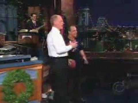 Jay Thomas on the Late Show