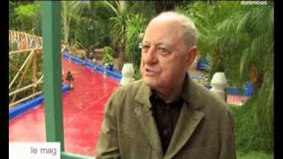 euronews le mag - YSL exhibition in his beloved Moroccan garden