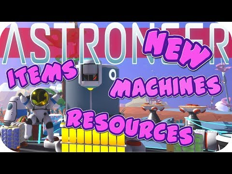 Astroneer Gameplay: SO MUCH NEW STUFF!!! TERRAIN AS RESOURCE ▶EXPERIMENTAL 2.0◀ Lets Play Astroneer