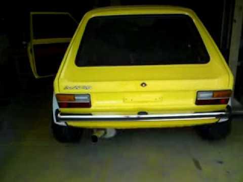Audi 50 Startversuch