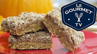 Pumpkin Caramel Oatmeal Squares Recipe - Legourmettv