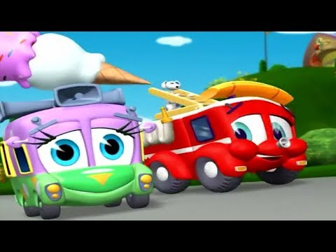 Finley The Fire Engine | Gas Shortage | Full Episode | Cartoons For Kids