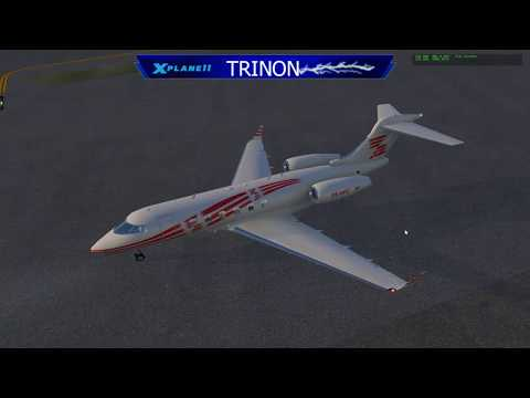 Flying the New DDEN Challenger 300 v2 - PANC to KSEA - SNOW