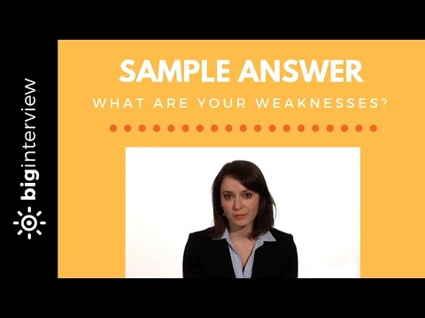 HOW TO ANSWER: What Is Your Greatest Weakness? (Our 2-Step Formula)