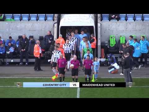 2017 11 05  Coventry v Maidenhead United Highlights