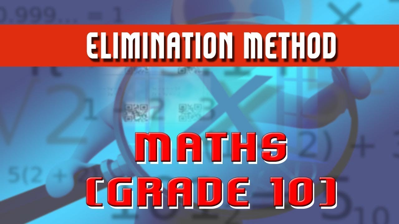 8. | Elimination Method to solve linear equation in 2 variables ...