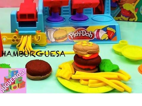 Play doh hamburguesas play doh men mc donal s demo en - Cocina play doh ...
