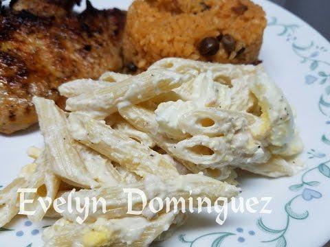Pasta Penne con Pollo Sencilla