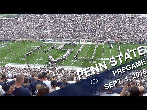Penn State Blue Band Pregame   Sept  1, 2018