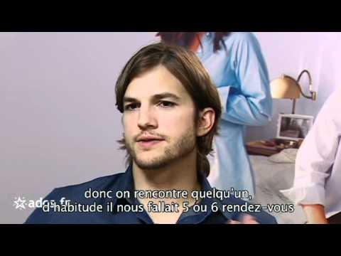 ashton kutcher un sex friends en interview pour youtube. Black Bedroom Furniture Sets. Home Design Ideas