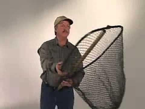 Stowmaster Folding Landing Nets Daryl Christensen Short