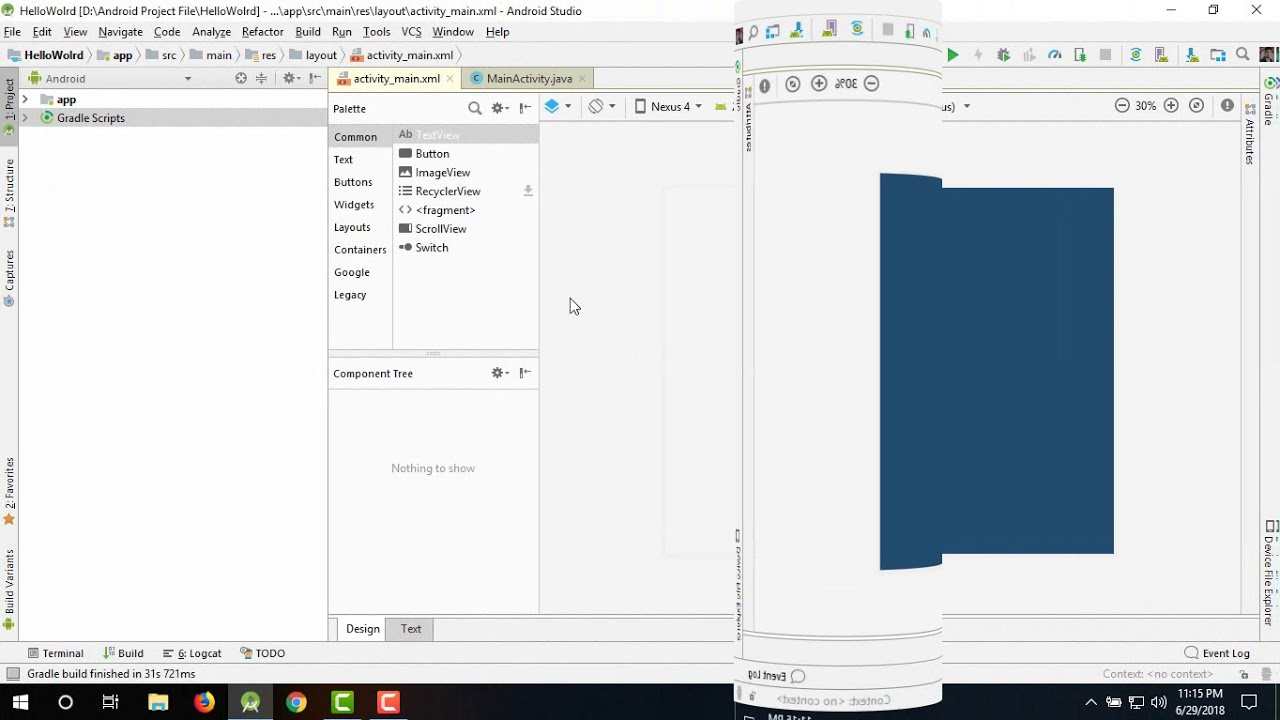 How to Solve Android Studio 3 1 3 Render Problem by S m  Sadi