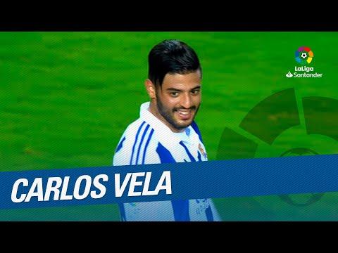 Carlos Vela: Best Goals Real Sociedad in LaLiga Santander