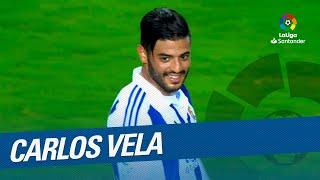 Carlos Vela: Golazos con la Real Sociedad en LaLiga Santander