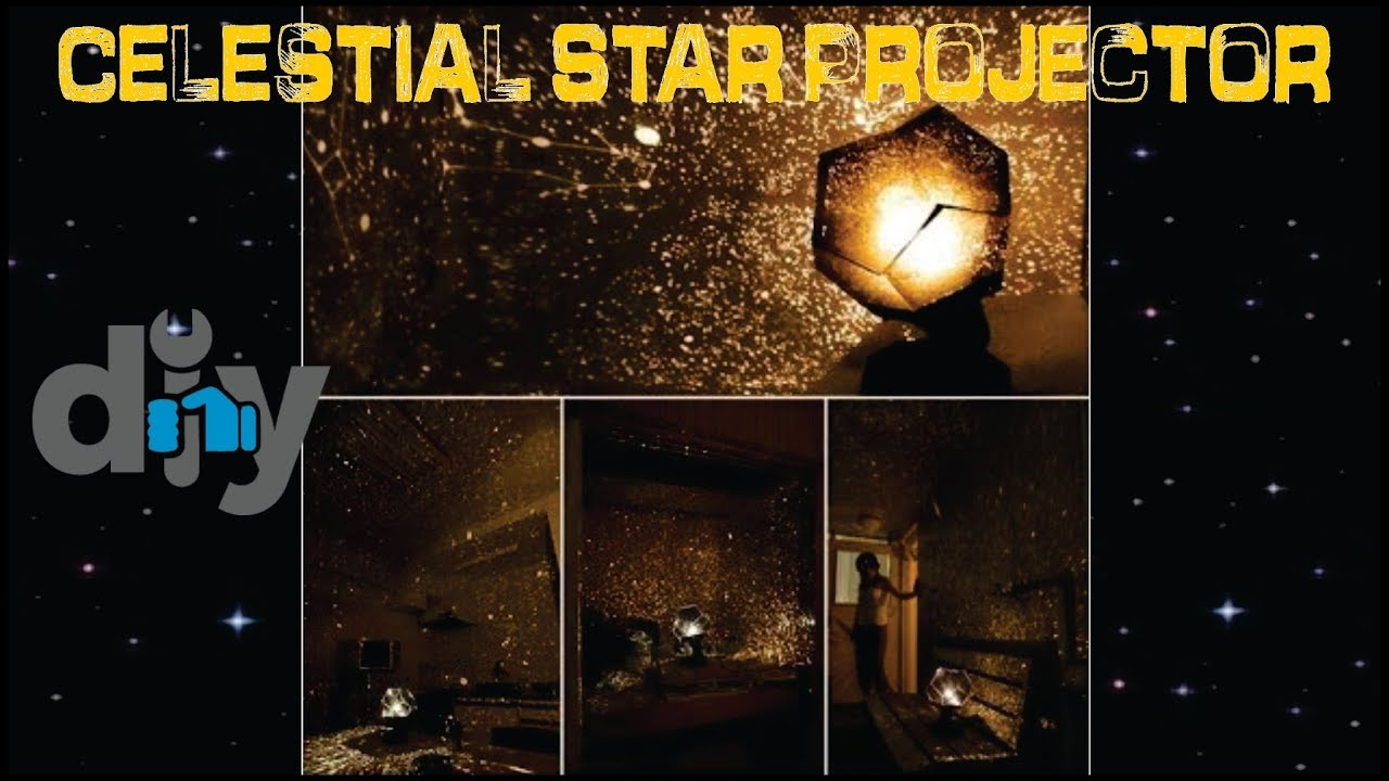 Star projector lamp night - Diy Fantastic Celestial Star Projector Lamp Night Light