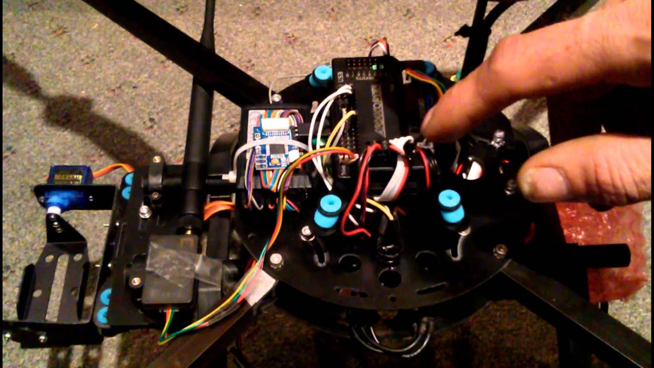 How To Setup A Servo Gimbal With Apm Flight Controller Part 1 Youtube Rover Mems Wiring Diagram