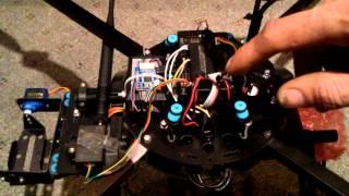 how to setup a servo gimbal with apm flight controller part 1