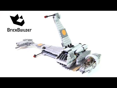Lego Star Wars 75050 B-Wing - Lego Speed Build