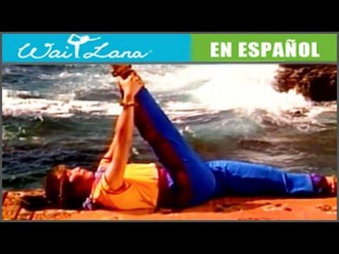 Курс йоги от Wai Lana - упражнения для ног