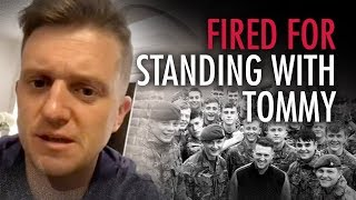 Tommy Robinson: UK Soldier discharged