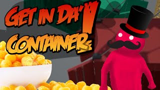 Get In Da' Container! Challenge: Cheese Balls! [gang Beasts]