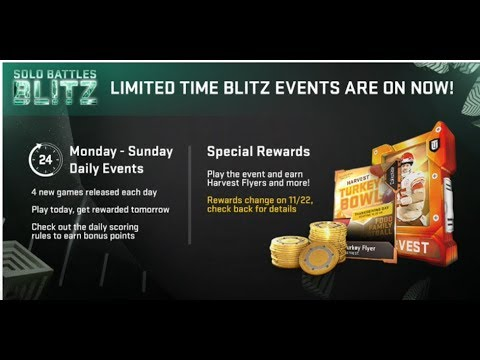 WOW! SOLO BATTLE BLITZ IS BACK! FREE MUTCOINS, FREE PACKS! HOW TO BEAT ANY SOLO BATTLES BLITZ EASY!