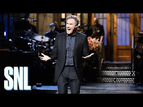 Will Ferrell First Time Monologue - SNL