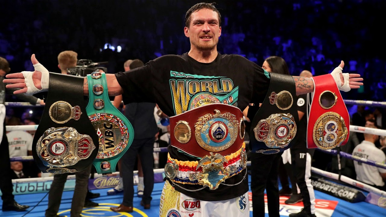 Usyk Entrance Song Boxing Ring -
