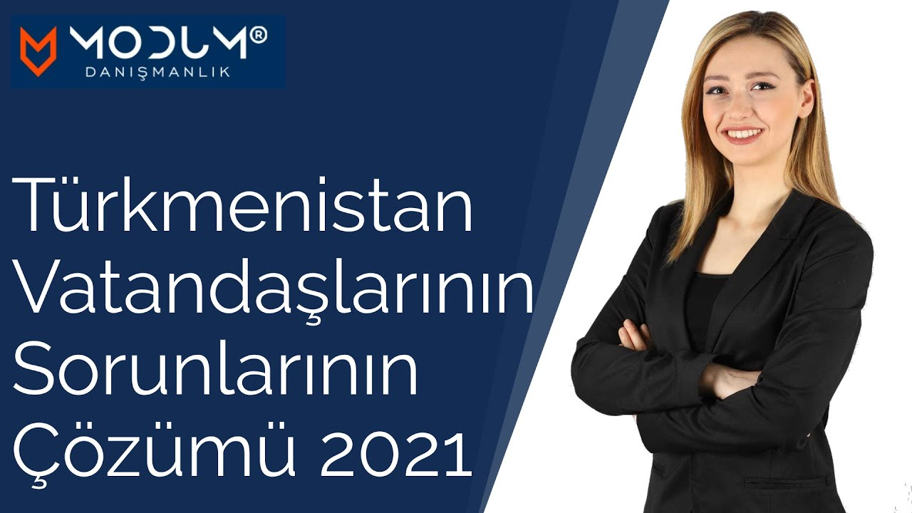 Türkmenistan vatandaşlarının sorunlarının çözümü!
