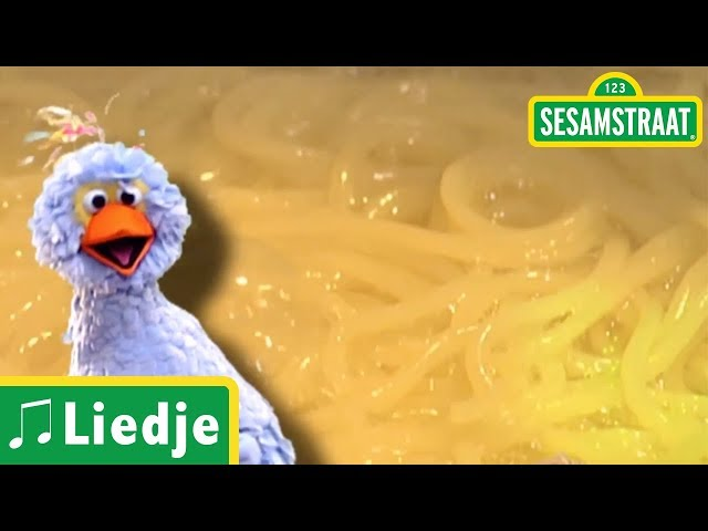 Spaghetti - Tommie, Pino & Ieniemienie - Liedje - Sesamstraat