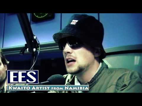 EES and The Hunta - at NBC German Service Radio (Namibia 2009)