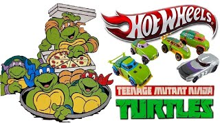 Opening Teenage Mutant Ninja Turtles Hot Wheels | Hot Wheels